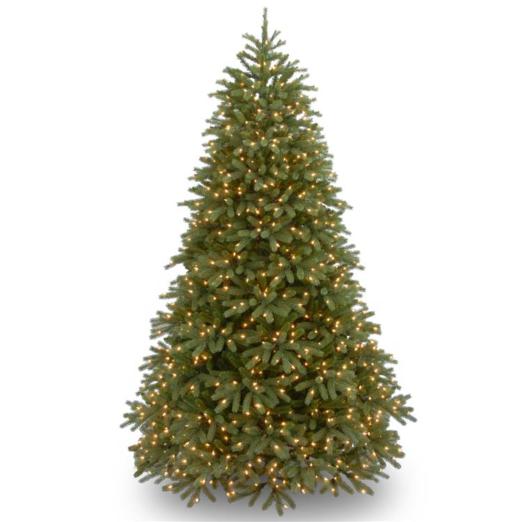 National Tree Jersey Fraser Fir Medium Tree with Clear Lights [Item # PEJF1-302-75]
