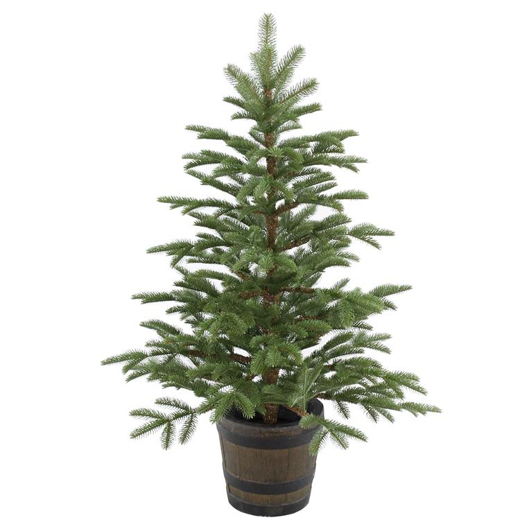 National Tree 4 ft Norwegian Spruce Entrance Tree