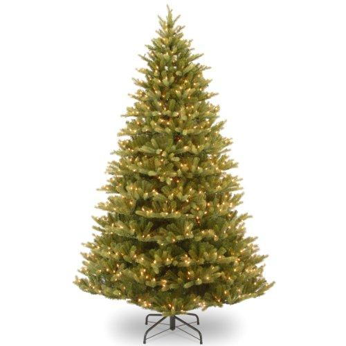 National Tree Normandy Fir Tree with Clear Lights