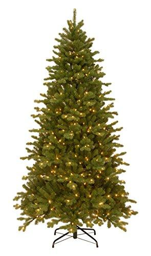 National Tree Sheridan Spruce Memory-Shape Tree with PowerConnect and Dual Color LED Lights