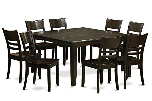 Dining Room Set-Dinette Table With Leaf And Dinette Chairs