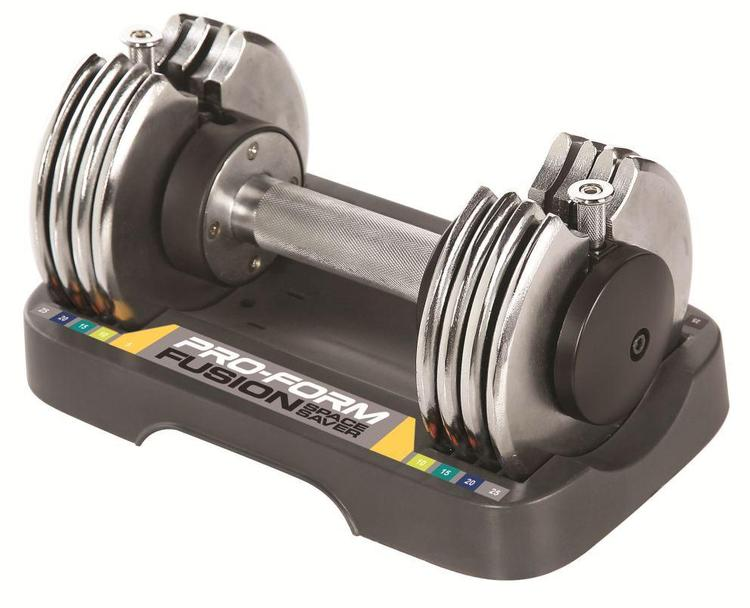 ProForm 25 lb Select-A-Weight Dumbbell