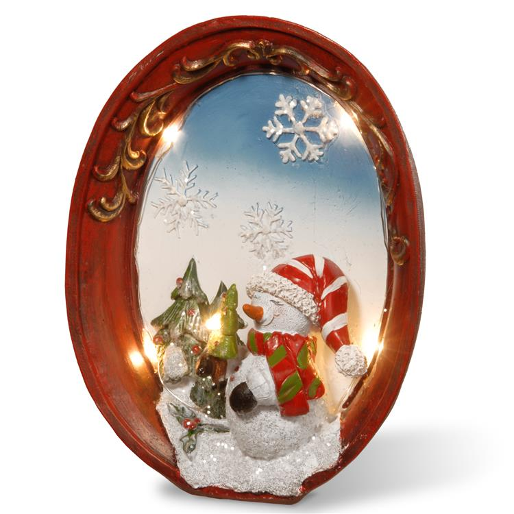 National Tree 9 inch Lighted Christmas Décor Piece [Item # PG11-12109-1]