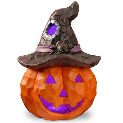 National Tree Lighted Halloween Jack-O-Lantern