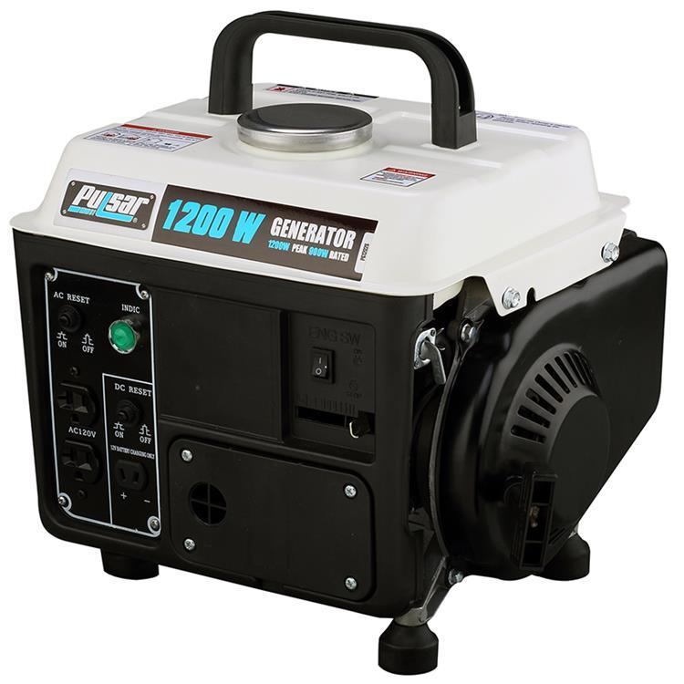 Pulsar 1200 watt portable 2-cycle generator