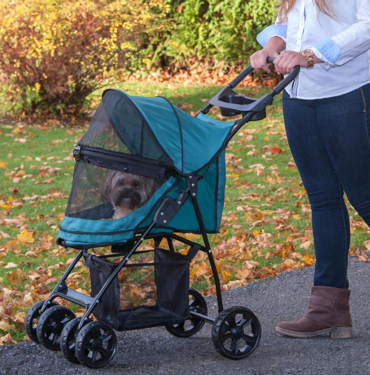 Happy Trails Lite No-Zip Pet Stroller