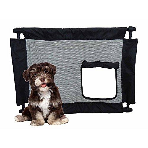 Pet Life Porta-Gate Travel Collapsible And Adjustable Folding Pet Cat Dog Gate