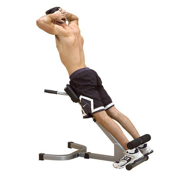 Body Solid Power Line 45 Back Hyperextension