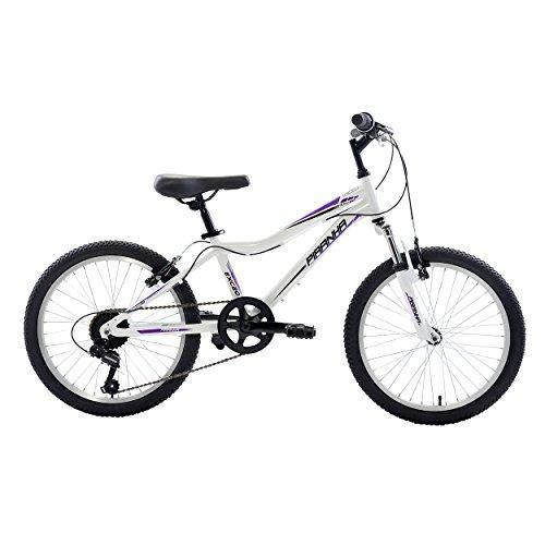 7 Speed Kids' MTB, 20 inch wheels, Girl's Bike, Silver