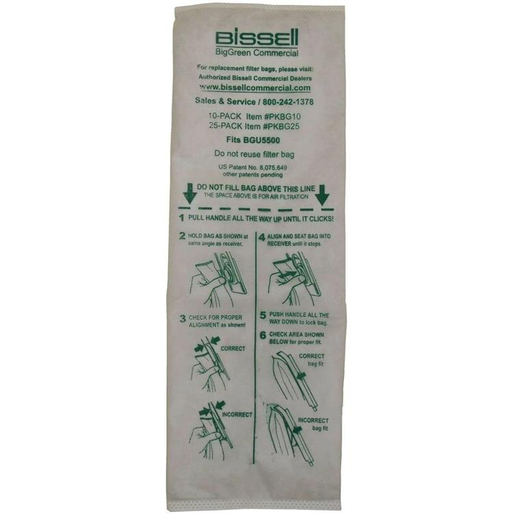 Bissell Pkbg10 Bags