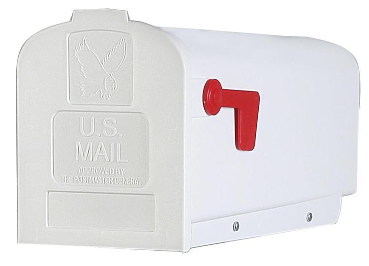 Pl10W0201 Mailbox Rurl Plst #1