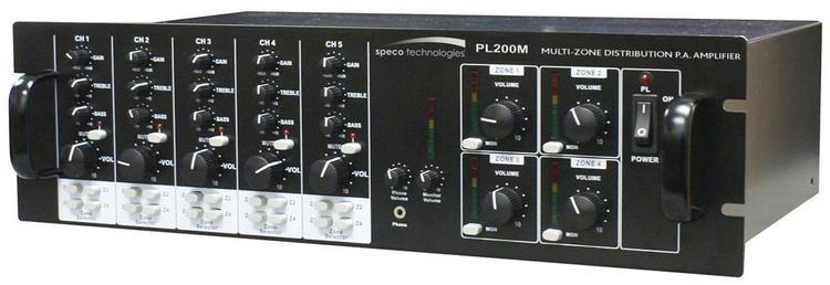 Multi Zone Commercial Amplifier