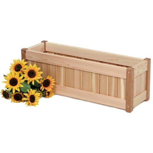 30 In. Cedar Planter Box