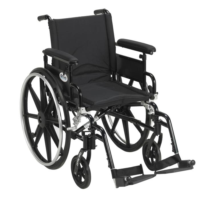 Viper Plus Gt Wheelchair With Flip Back Removable Adjustable Full