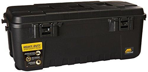 Storage Trunk, 108 Qt., Black, w/ Wheels
