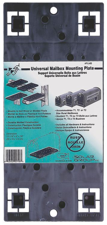 Plmb0060 Mailbox Mountng Brd