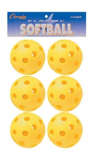 Plastic Softball Retail Pack