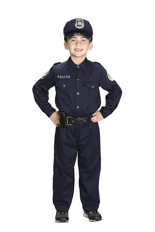 Jr. Police Officer Suit, size 4/6