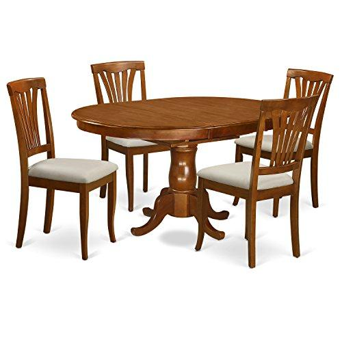 Dining Room Set - Kitchen Dinette Table And Dining Chairs