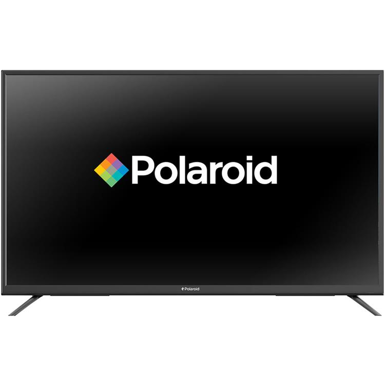 Polaroid 55 In. LED Flat ULTRA HDTV with Built-In Chromecast