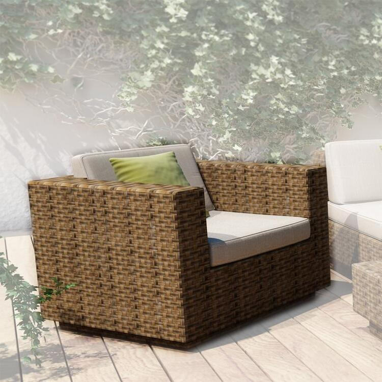 Sonax Park Terrace Double Armrest Sectional Patio Set