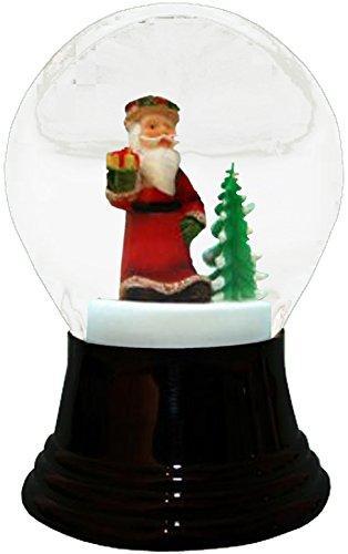 Alexander Taron Importer PR1552 Perzy Snowglobe, Medium Santa with Tree-5
