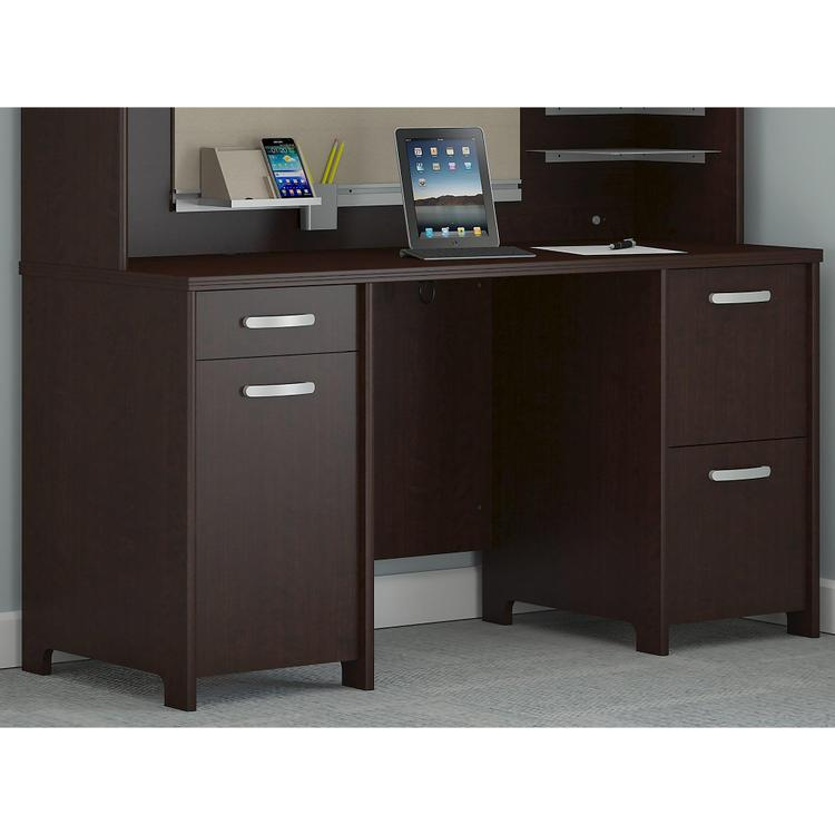 Envoy 58W Office Desk With 2 Pedestals