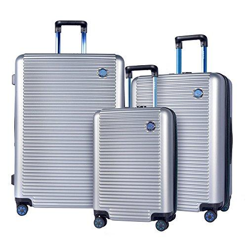 BEIJING 3-Piece Hardside Expandable Dual-Spinner Luggage Collection