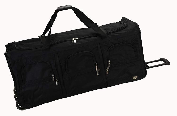 Rockland Luggage Rolling Duffle Bag [Item # PRD340-BLACK]