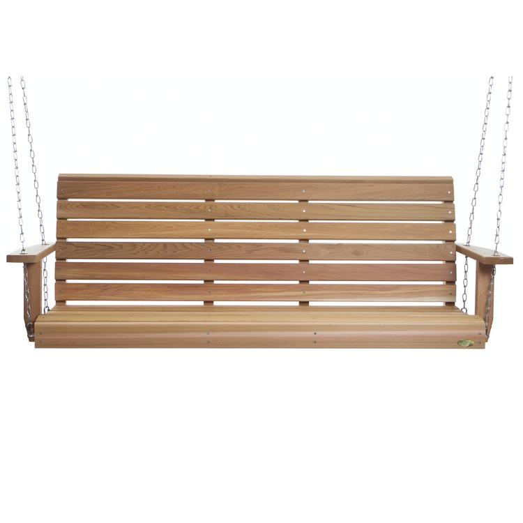 All Things Cedar 6' Porch Swing & Comfort Swing Springs