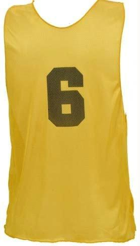 Adult Numbered Practice Vest