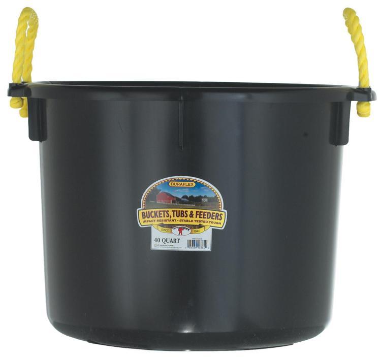 Psb40Black Muck Tub 40 Quart