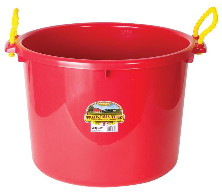 Psb70Red Muck Tub 70 Qt