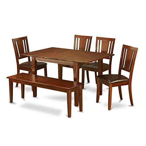 East West Furniture Small Kitchen Table With Dining Table Chairs