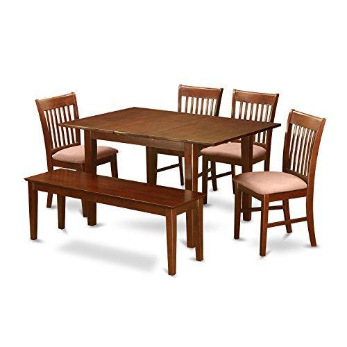East West Furniture 5-Piece Kitchen Table Set