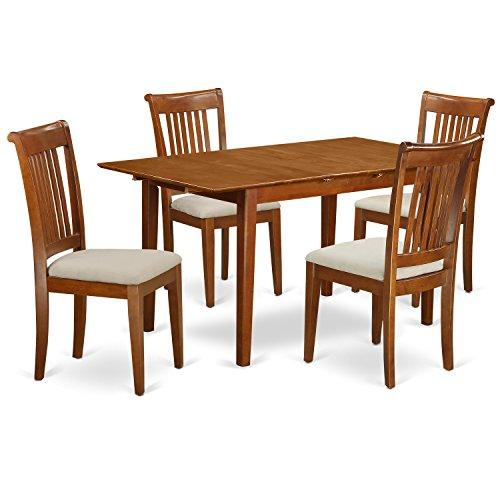 Small Kitchen Table Set Table With Leaf And Dining Chairs