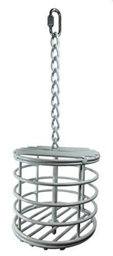 Parrot Bird treat Cage Metal Basket. size: 5