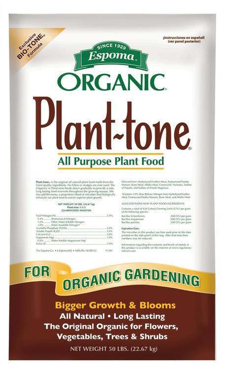 Espoma Pt50 Plant-Tone 50#