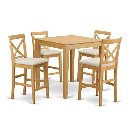 Counter Height Dining Set-Pub Table And Stools