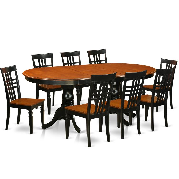 Kitchen Table Set With A Table And Dining Chairs [Item # PVLG9-BCH-W]