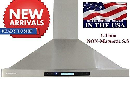 XtremeAIR Non-Magnetic Wall Mount Range Hood