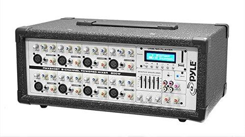 PYLE PRO PMX840BT 8-Channel 800-Watt Bluetooth(R) Mixer