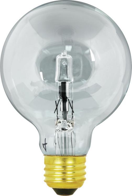 Q40G25 Bulb Hal 40W Clear