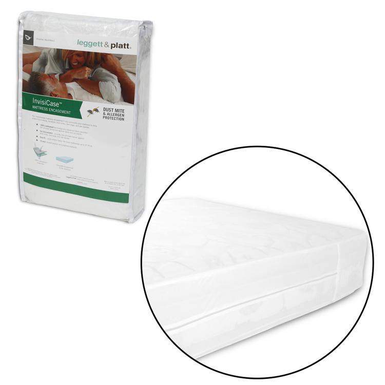 Fashion Bed Group InvisiCase 9-Inch Mattress Encasement with Stain and Bed Bug Defense