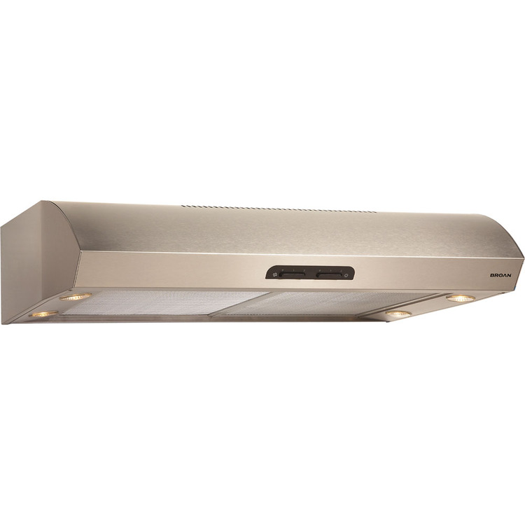 Evolution 1 (QP1) Series 30 In. 4-Way Convertible Under Cabinet Range Hood - Stainless Steel