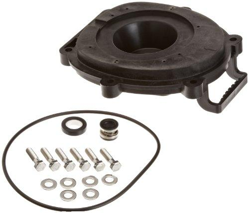 Ceramic and Carbon Backplate Replacement Kit for Zodiac Jandy FloPro FHPM Series Pump