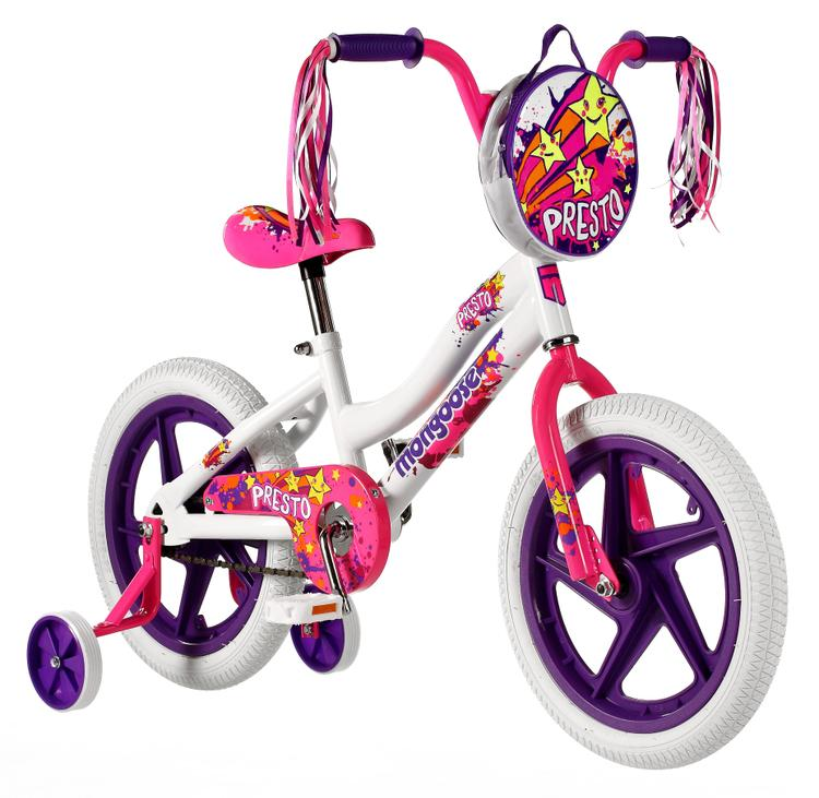 Mongoose Girls Presto Bicycle