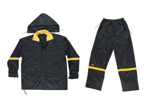 R103M Rain Suit 3Pc Blk Md [Item # R103M]