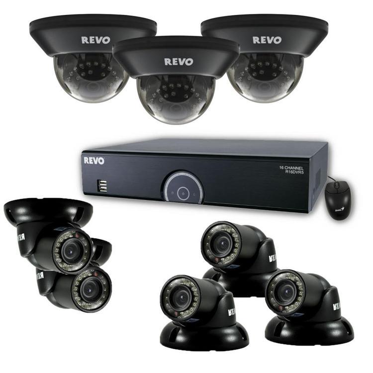 16 Channel 960 H DVR Surveillance System With Night Vission Cameras