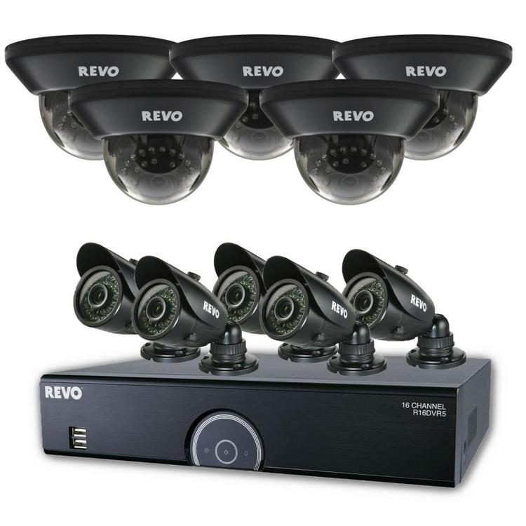 16 Channel 960 H DVR Surveillance System With Night Vission Cameras